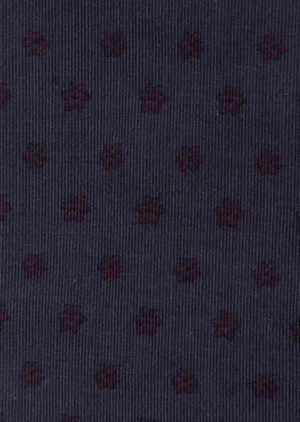 Chemise sport Regular en velours côtelé bleu indigo uni - Father and Sons 36492