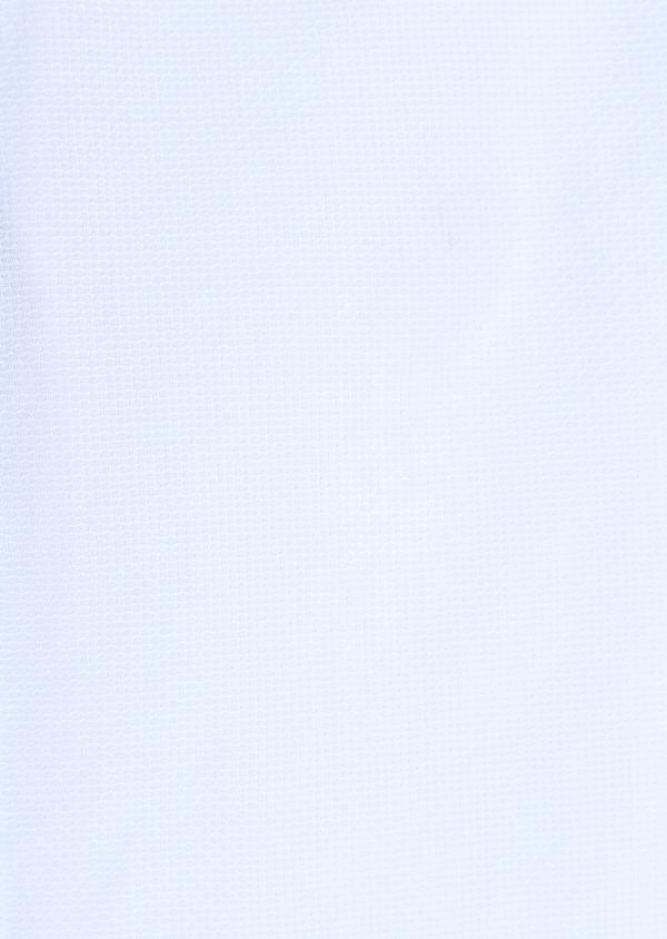 Chemise sport Slim en coton jacquard uni bleu ciel - Father and Sons 34399