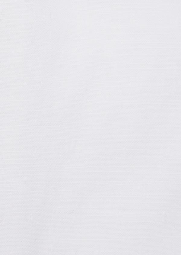 Chemise sport Regular en coton façonné blanc à motif fantaisie - Father and Sons 39375