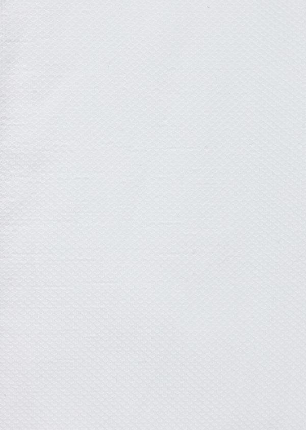 Chemise sport Regular en façonné de coton uni blanc - Father and Sons 40888