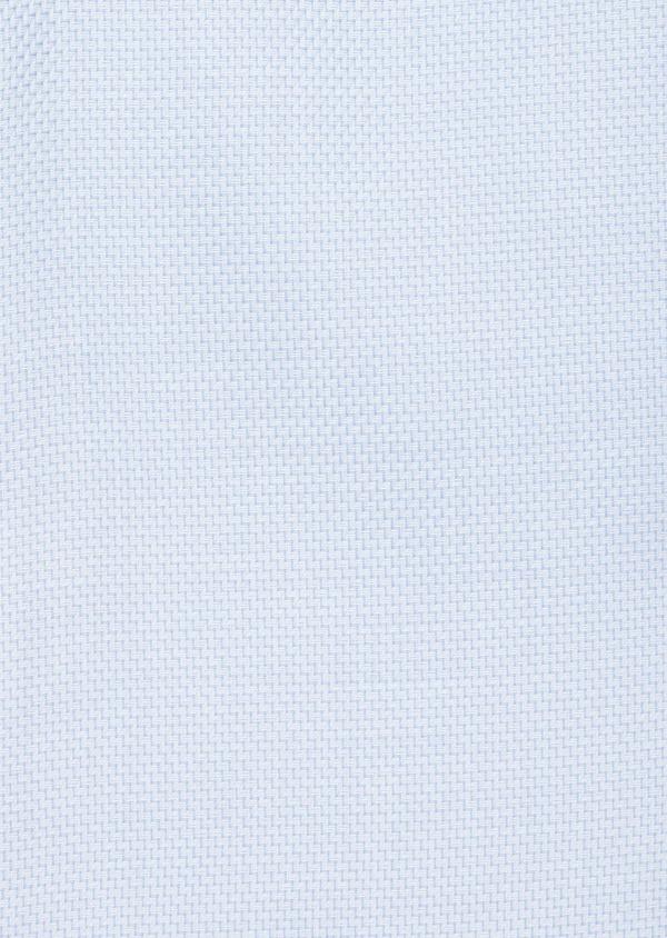Chemise habillée non-iron Regular en coton façonné bleu ciel à motifs géométriques - Father and Sons 40872