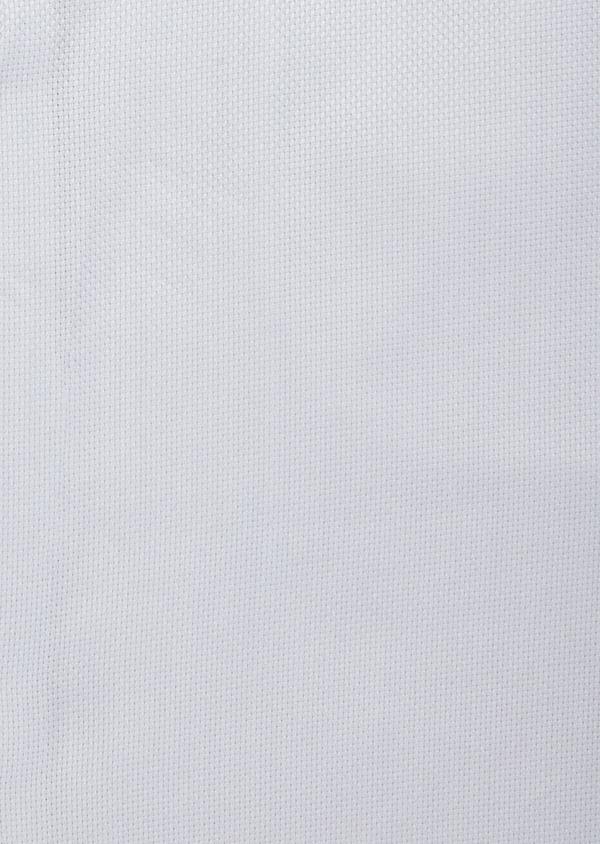 Chemise habillée Regular en coton façonné à motif fantaisie ton sur ton blanc - Father and Sons 38400
