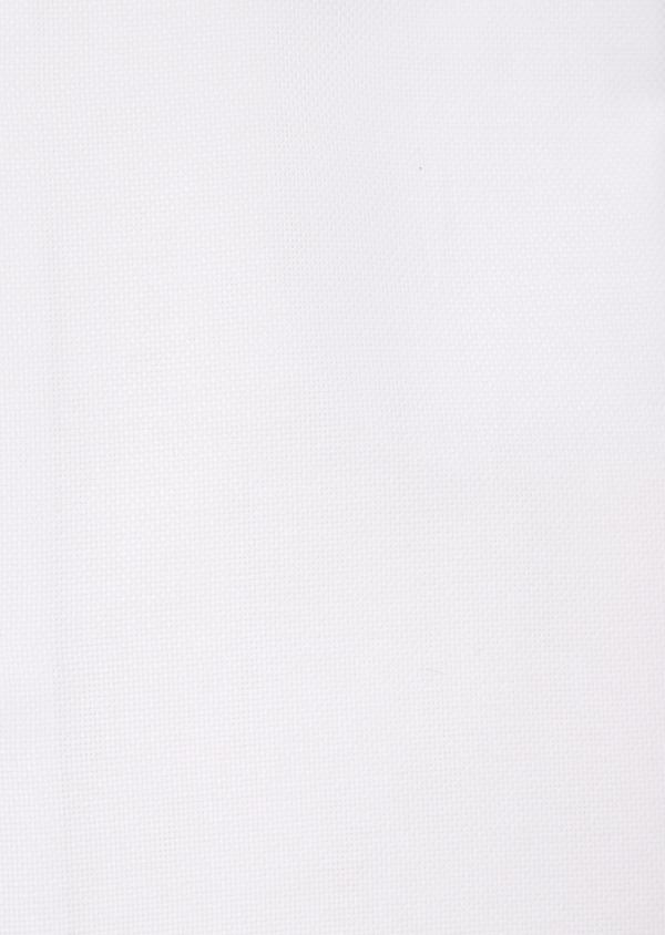 Chemise habillée Regular en coton façonné uni blanc - Father and Sons 36658