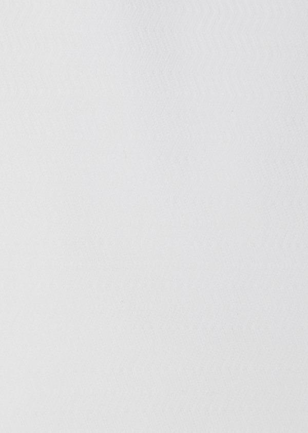Chemise habillée Regular en coton façonné uni blanc - Father and Sons 38356