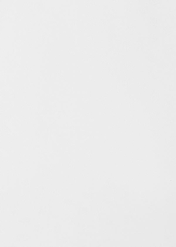 Chemise habillée Slim en coton façonné blanc à motif fantaisie - Father and Sons 38561