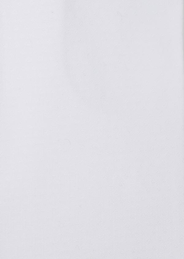 Chemise habillée Slim en coton façonné blanc à motif fantaisie - Father and Sons 35617