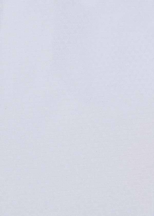 Chemise habillée Slim en coton façonné blanc à motifs géométriques ton sur ton - Father and Sons 34993