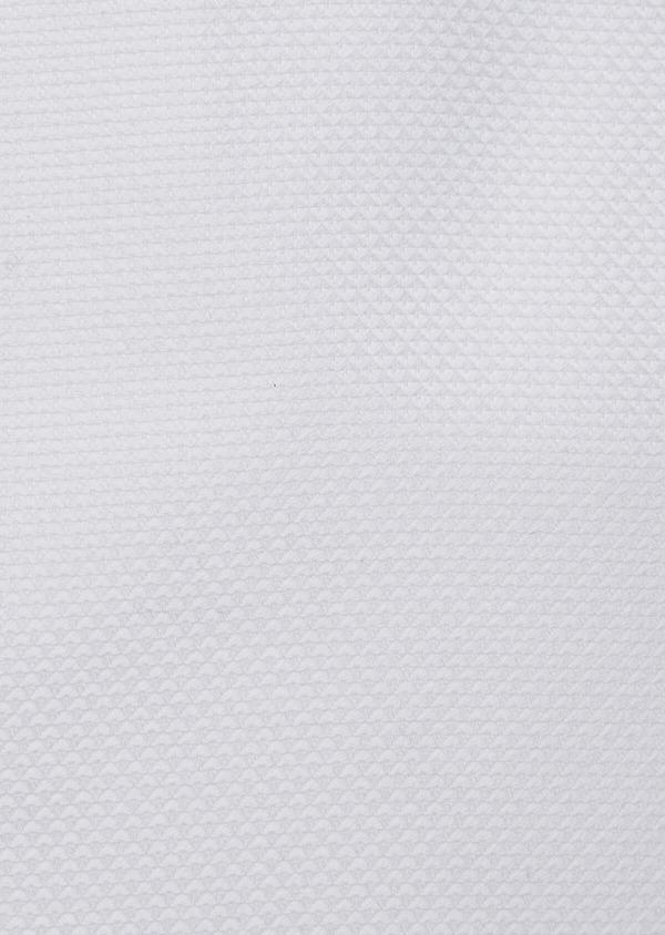 Chemise habillée Slim en coton façonné blanc - Father and Sons 38324