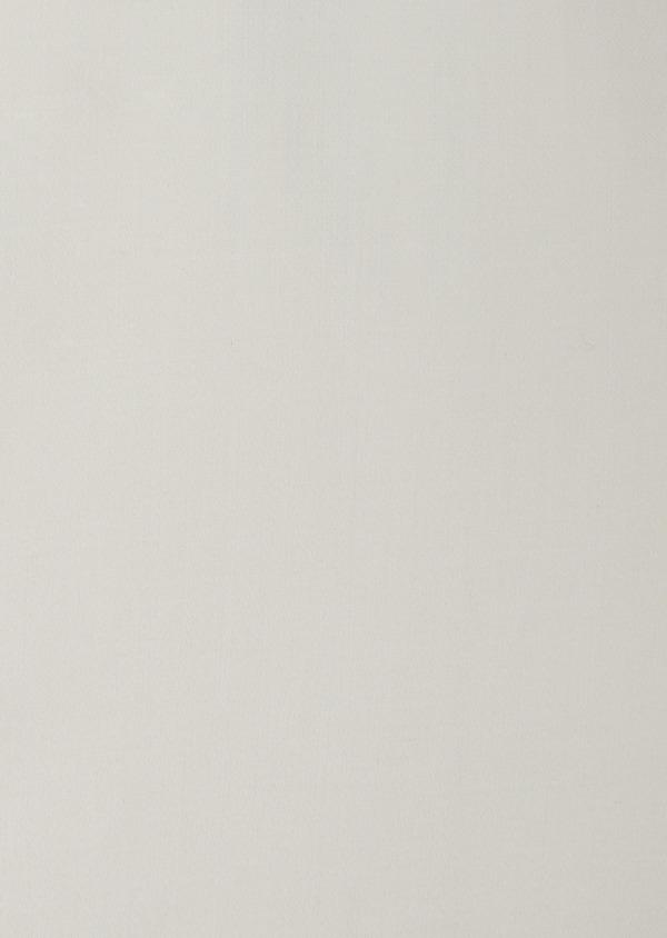 Chemise habillée Slim en coton façonné écru - Father and Sons 38308