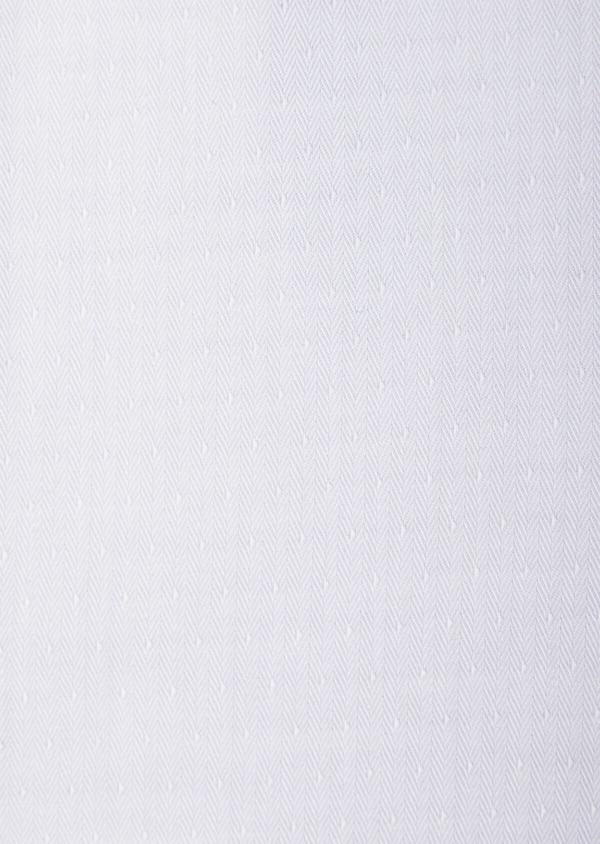 Chemise habillée Slim en coton chevron gris - Father and Sons 39444
