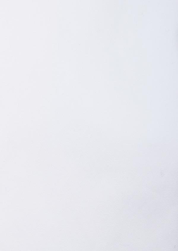 Chemise habillée Slim en satin de coton uni blanc - Father and Sons 38589