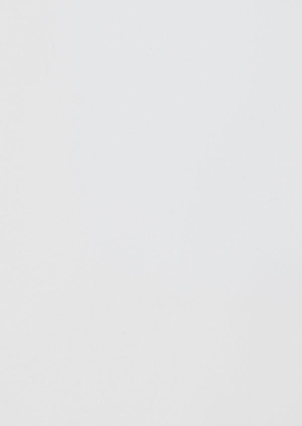 Chemise habillée Slim en satin de coton uni blanc - Father and Sons 39168