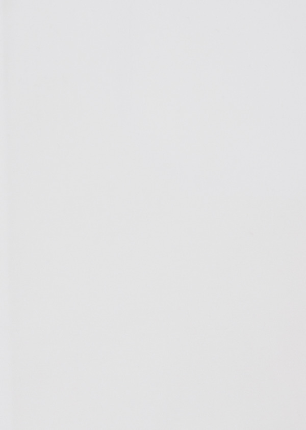 Chemise habillée Slim en satin de coton uni blanc - Father and Sons 38416