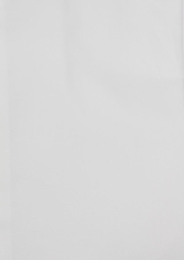 Chemise habillée Slim en satin de coton uni écru - Father and Sons 34973