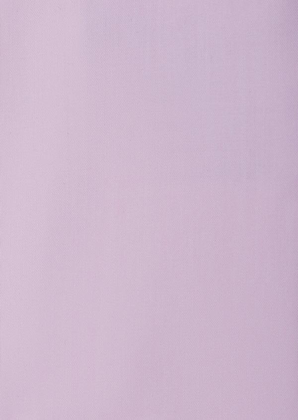 Chemise habillée Slim en popeline de coton mélangé uni rose pâle - Father and Sons 39362