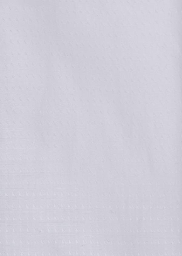 Chemise habillée Slim en coton façonné uni blanc - Father and Sons 41722