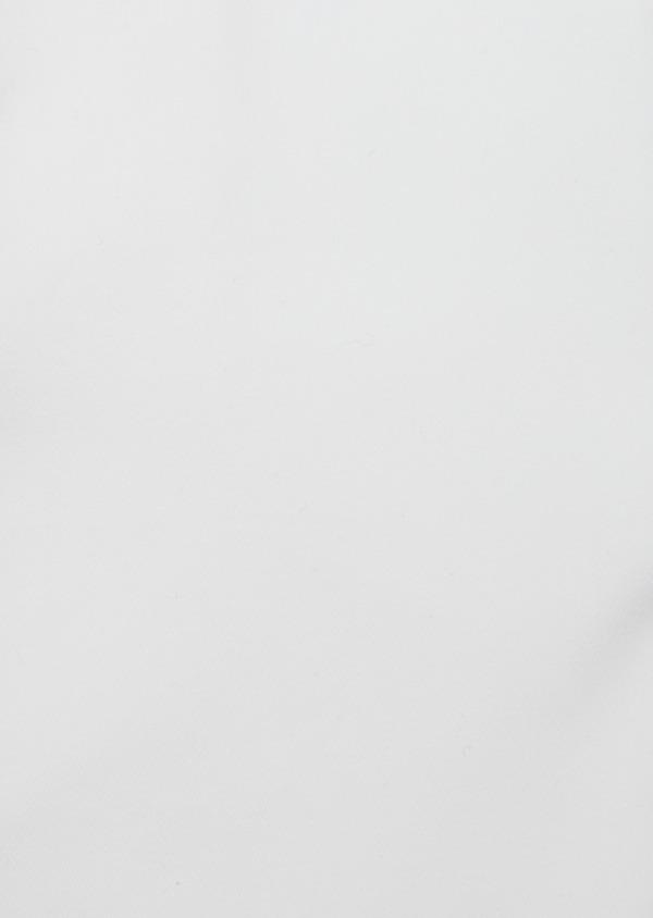 Chemise habillée Slim en satin de coton uni blanc - Father and Sons 40824