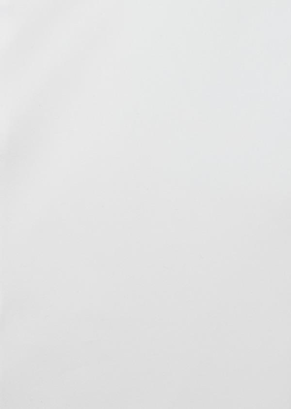 Chemise habillée Regular en satin de coton uni blanc - Father and Sons 40828