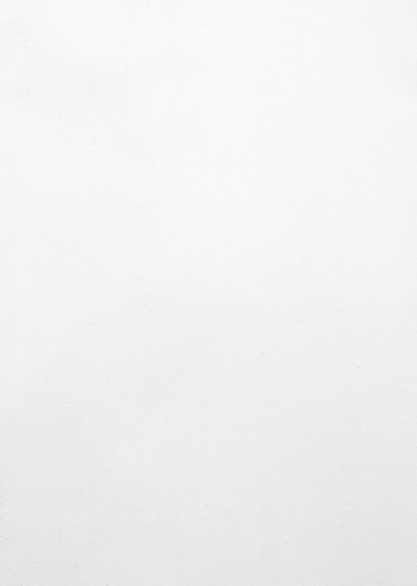 Chemise habillée Slim en satin de coton uni blanc - Father and Sons 41730