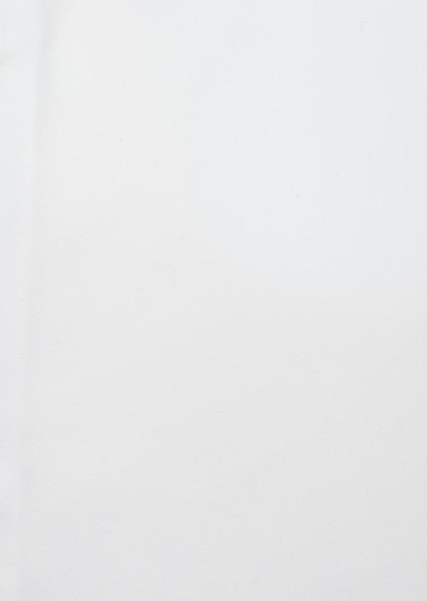 Chemise habillée Slim en satin de coton uni blanc - Father and Sons 41738