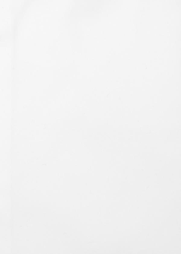 Chemise habillée Slim en satin de coton uni blanc - Father and Sons 41742
