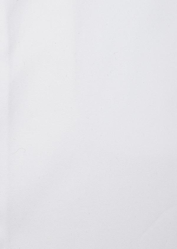 Chemise habillée Slim en satin de coton uni blanc - Father and Sons 41746