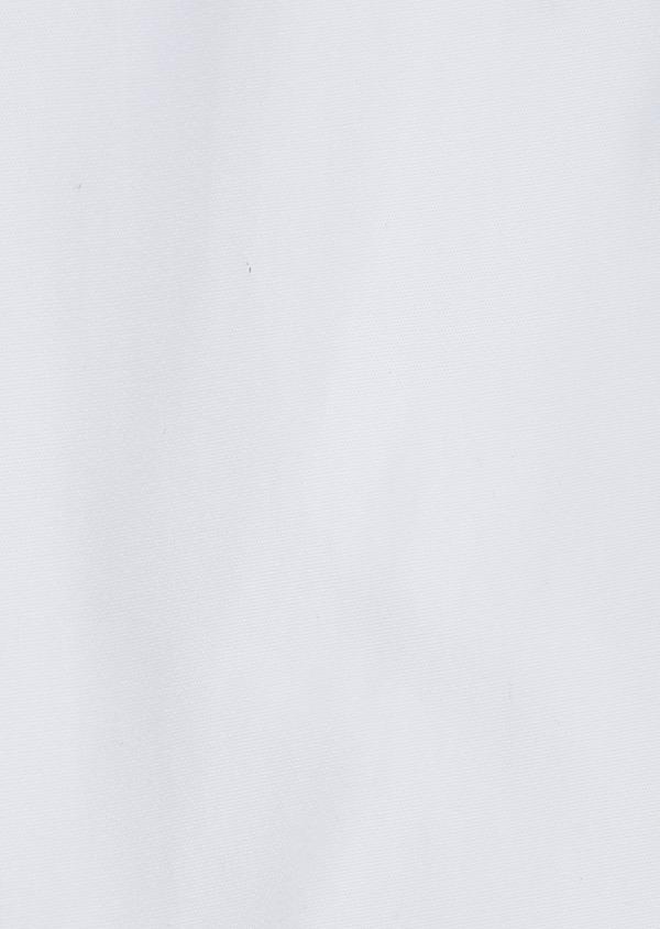 Chemise sport Slim en popeline de coton uni blanc - Father and Sons 32587
