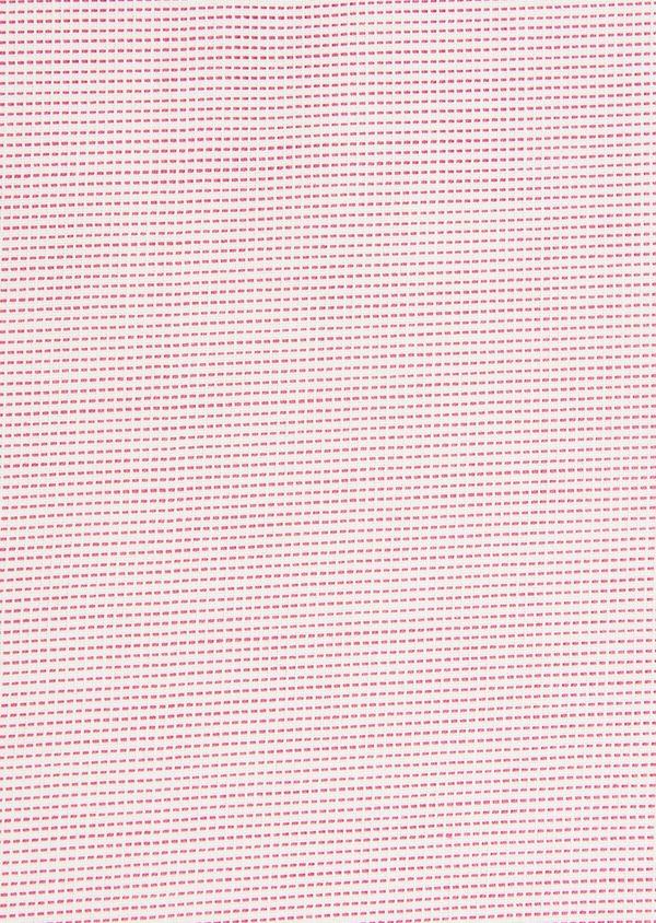 Chemise habillée Slim en coton façonné à carreaux rose - Father and Sons 32331
