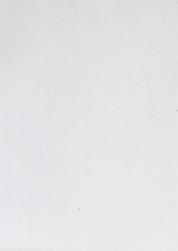 Chemise habillée Slim en coton façonné blanc à motif fantaisie ton-sur-ton - Father and Sons 32315
