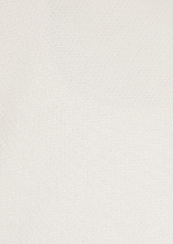 Chemise habillée Slim en coton façonné uni écru - Father and Sons 32395