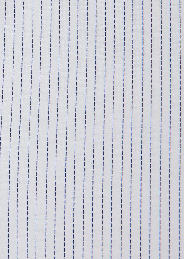 Chemise habillée Slim en coton à motifs géométriques chambray - Father and Sons 31764