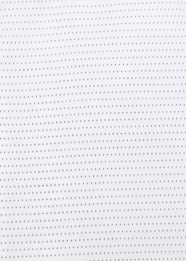 Chemise habillée Slim en coton Jacquard blanc à motif fantaisie noir - Father and Sons 32287