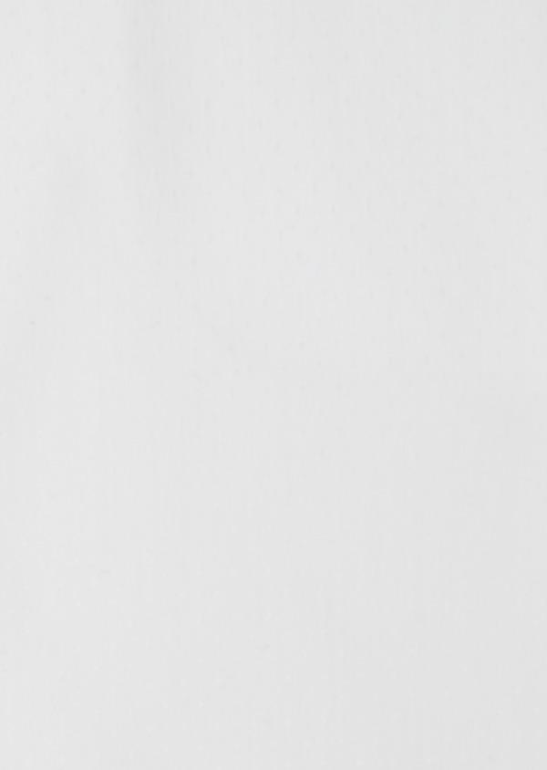 Chemise habillée Slim en pinpoint de coton stretch blanc à pois ton-sur-ton - Father and Sons 32419