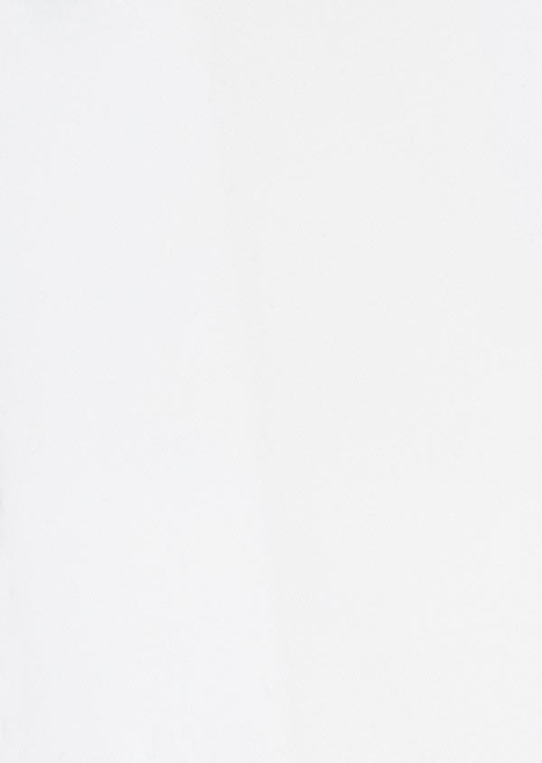 Chemise Slim habillée en satin de coton blanc uni - Father and Sons 32443