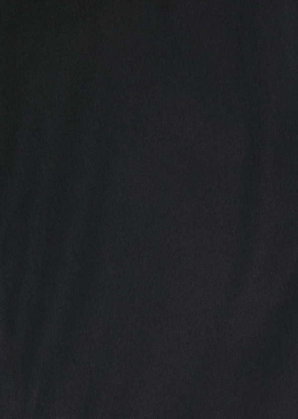 Chemise habillée Slim en satin de coton stretch uni noir - Father and Sons 32463