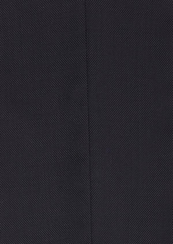 Costume 2 pièces Slim en laine mélangée unie bleu marine - Father and Sons 32656