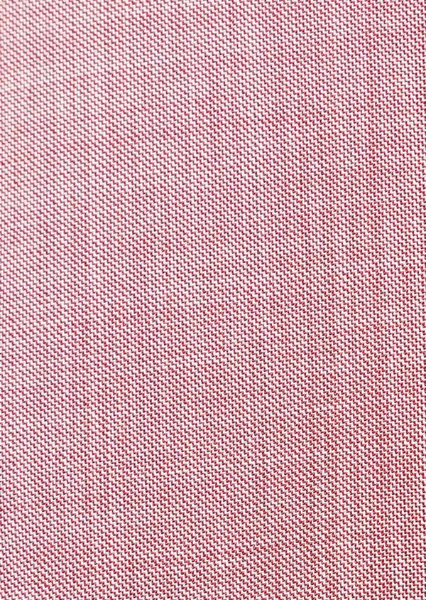 Costume 2 pièces Slim en laine unie rouge - Father and Sons 32784