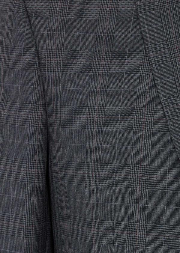 Costume 2 pièces Regular en laine grise Prince de Galles - Father and Sons 40980