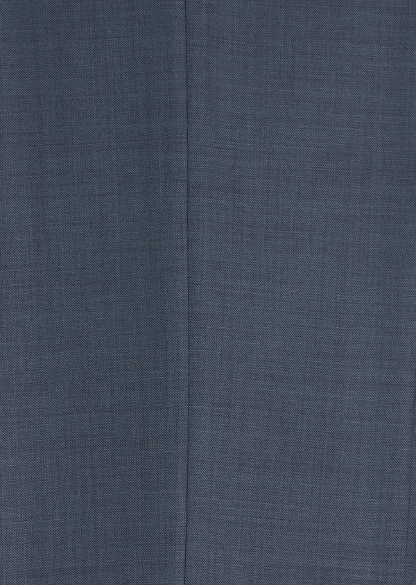 Costume 2 pièces Regular en laine stretch naturelle unie bleu chambray - Father and Sons 35038
