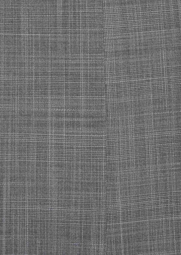 Costume 2 pièces Slim en laine mélangée gris clair Prince de Galles - Father and Sons 37554
