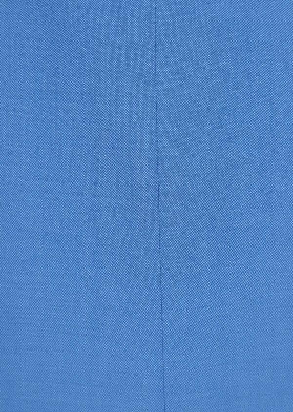 Costume 2 pièces Slim en laine unie bleu azur - Father and Sons 36307
