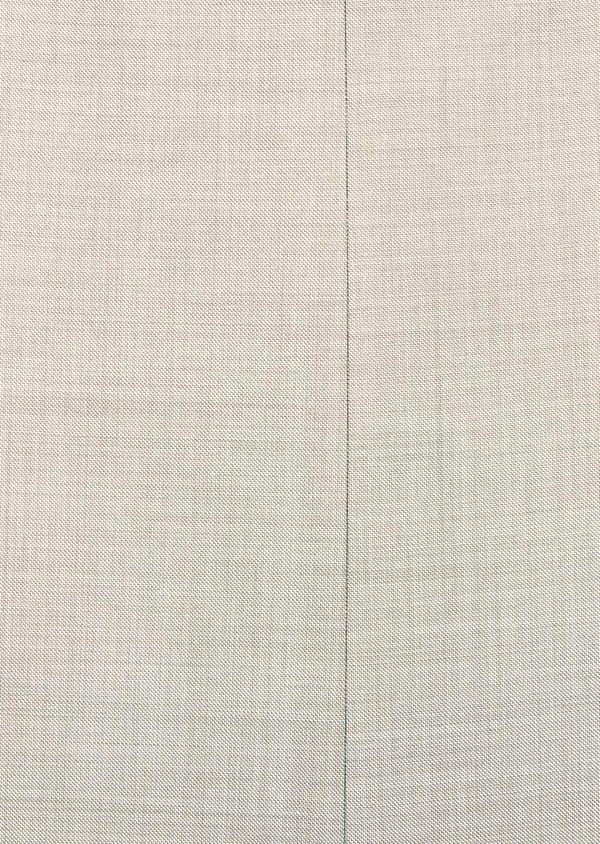 Costume 2 pièces Slim en laine stretch naturelle unie beige - Father and Sons 37575