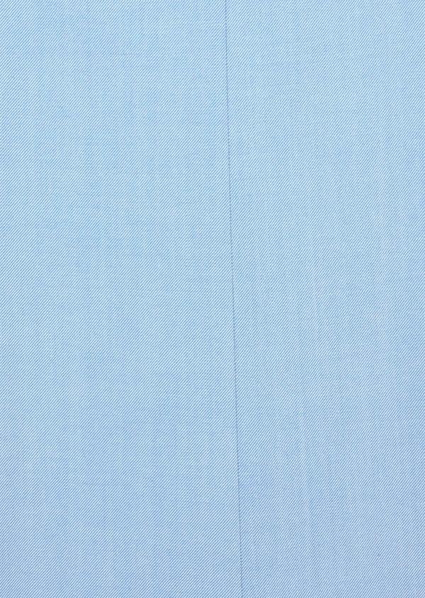 Costume 2 pièces Slim en laine stretch naturelle unie bleu clair - Father and Sons 37432