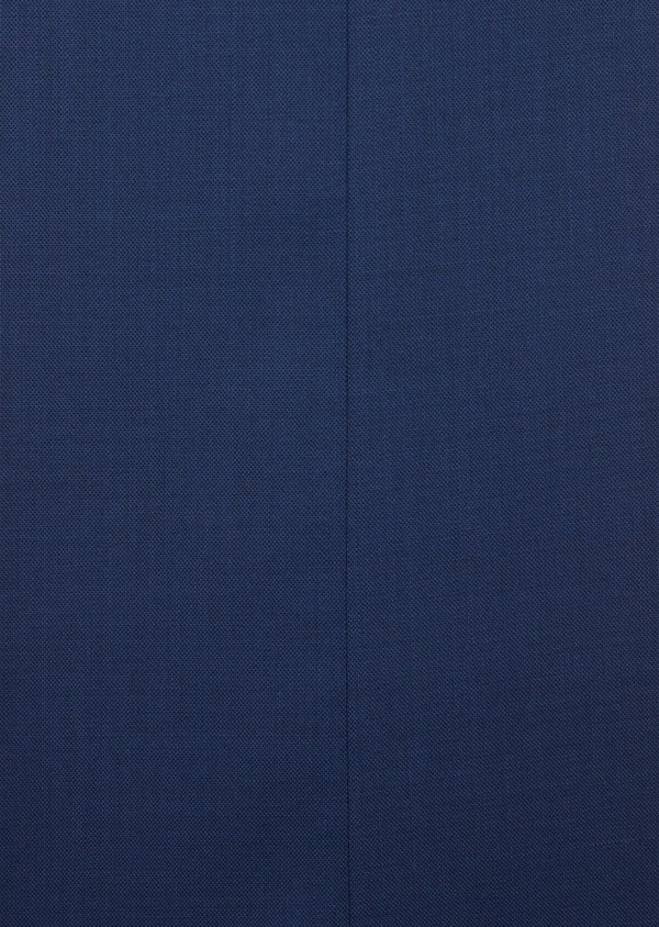 Costume 2 pièces Slim en laine stretch naturelle unie bleu indigo - Father and Sons 37470