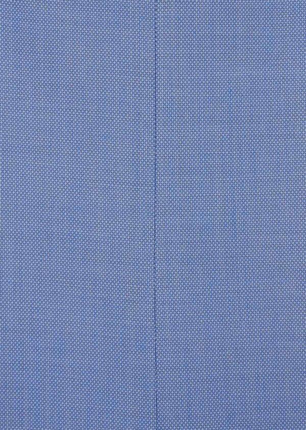 Costume 2 pièces Slim en laine stretch naturelle unie bleu chambray - Father and Sons 37526