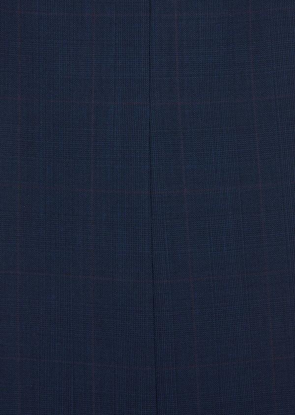 Costume 2 pièces Slim en laine unie bleu indigo - Father and Sons 37080