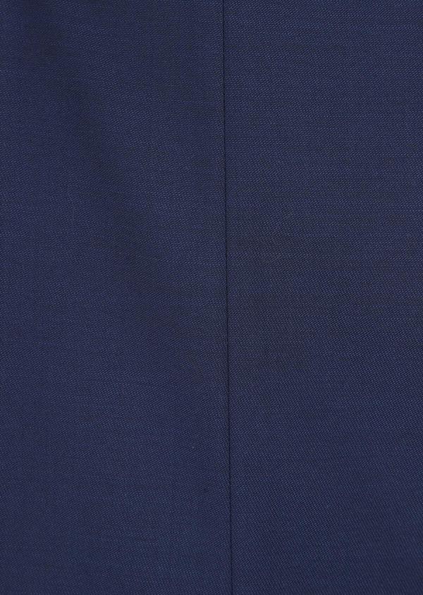 Costume 2 pièces Slim en laine unie bleu indigo - Father and Sons 35068