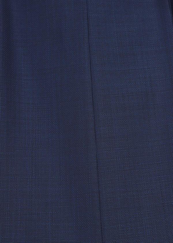 Costume 2 pièces Slim en laine unie bleu indigo - Father and Sons 35075
