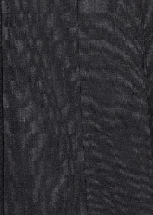 Costume 2 pièces Slim en laine stretch naturelle unie noire - Father and Sons 37561