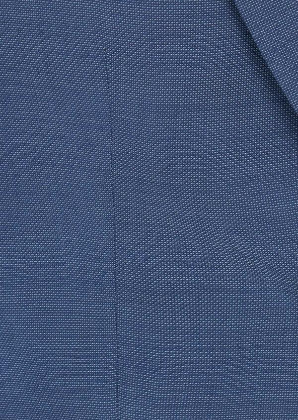 Costume 2 pièces Slim en laine unie bleu indigo - Father and Sons 40939